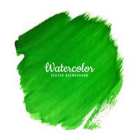 fundo aquarela verde moderno vetor