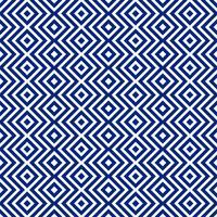 Fundo bonito abstrato azul padrão geométrico vetor
