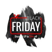 fundo de venda sexta-feira negra moderna vetor