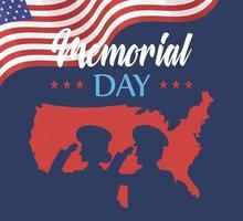 dia do memorial, lembre-se vetor
