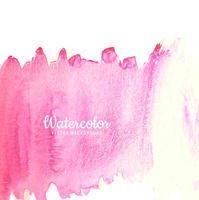 Projeto de aguarela abstrata traço rosa vetor