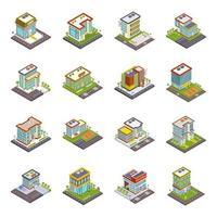 edifícios e estrutura vetor