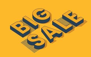 grande venda modelo especial moderno ilustração em vetor banner oferta especial de final de temporada