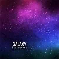 Fundo abstrato linda galáxia vetor
