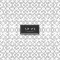 Belo design elegante padrão criativo