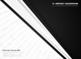 abstrato tecnologia preto e branco fundo do projeto da capa corporativa. vetor