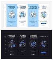 modelo de vetor integrado de substituição de membro artificial