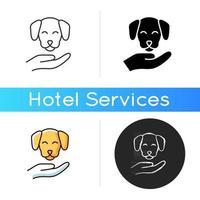 ícone de animais de estimação vetor