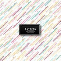 Linhas geométricas coloridas abstratas de fundo vetor