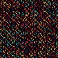 Ilustração de fundo padrão geométrico colroful