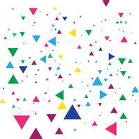 Fundo de celebração confete colorido abstrato