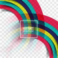 Abstratos, coloridos, listras, onda, fundo vetor