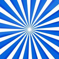 Fundo abstrato linhas azuis com raios vetor