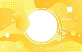 fundo amarelo abstrato vetor
