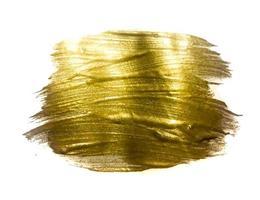 ilustração de arte texturizada brilhante tinta dourada vetor