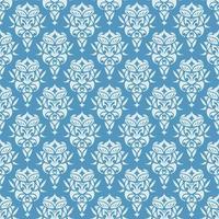 papel de parede real sem costura padrão floral fundo de luxo vetor