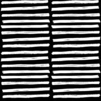 escova desenhada à mão strockes padrão sem emenda, ilustração vetorial vetor