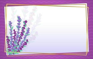 fundo de flor de lavanda vetor