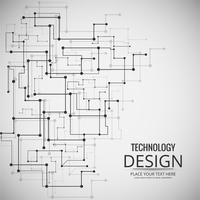 Abstratos, tecnologia, fundo, desenho, ilustração vetor