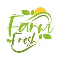 comida fresca da fazenda vetor