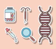 ginecologia e medicina vetor