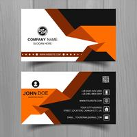 Design de modelo de cartão de visita elegante onda abstrata vetor