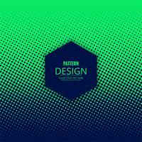 Resumo design de padrão de meio-tom pontilhado vetor
