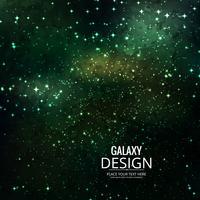Fundo de galáxia espaço com nebulosa, stardust e brilhante brilhante vetor