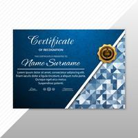 Modelo de certificado Premium prêmios diploma background vector