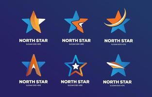 coleções de logotipo de estrelas vetor