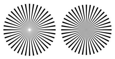 forma geométrica circular abstrata vetor