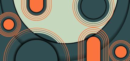 fundo gradiente geométrico vetor