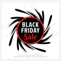 Fundo de venda sexta-feira negra abstrata vetor