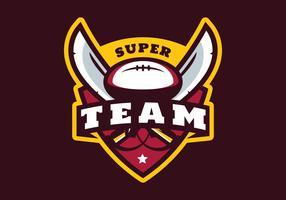 Super Equipa de Futebol vetor