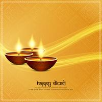 Fundo religioso feliz abstrato de Diwali