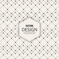 Projeto abstrato decorativo padrão sem emenda vetor