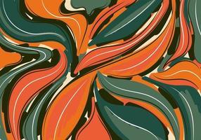 fundo abstrato padrão desenhado à mão escova colagem modelo contemporâneo para design vetor