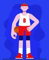 Ilustração de basquete vetor