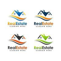 design de vetor de logotipo imobiliário