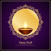 Resumo feliz Diwali festival fundo vetor