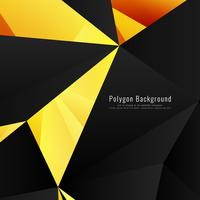Fundo poligonal geométrico moderno abstrato vetor