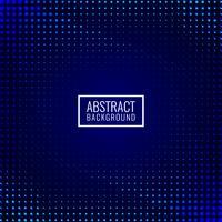 Fundo abstrato mosaico azul escuro vetor