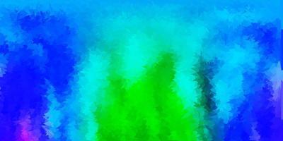 layout de polígono gradiente vetorial multicolor claro vetor