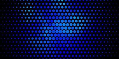 fundo vector azul escuro com círculos abstratos discos coloridos em fundo gradiente simples novo modelo para o seu brand book