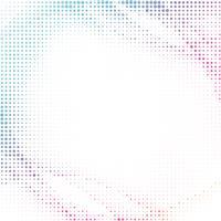 Fundo de meio-tom colorido abstrato vetor