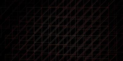 pano de fundo laranja escuro com linhas ilustração gradiente colorida com modelo abstrato de linhas planas para o seu design de interface do usuário vetor