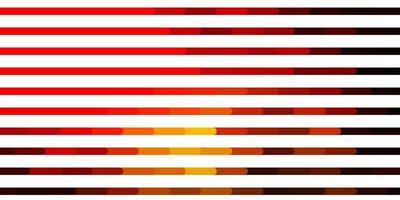 modelo de vetor laranja escuro com linhas repetidas linhas em fundo abstrato com gradiente melhor design para seus banners de cartazes