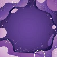 conceito de cor lilás vetor
