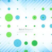 Fundo geométrico abstrato com pontos coloridos
