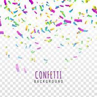 Fundo abstrato colorido confete vetor